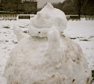 Snowman (Photo M. Germana)