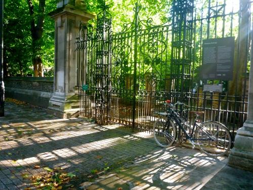 Malet Gardens Gate