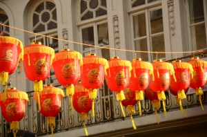 Red Lanterns (Photo M. Germana)