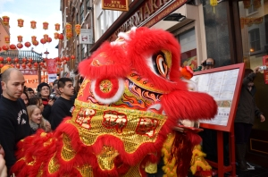 Lion Dancer (Photo M. Germana)