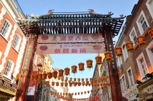 'Chinatown Gate' (Photo M. Germana)